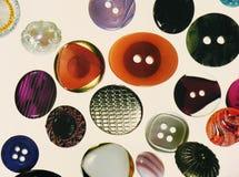 Diversos botones coloridos Fotos de archivo libres de regalías