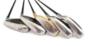 Equipos de golf. Foto de archivo