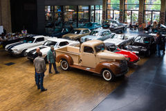 Diversos coches del vintage Fotografía de archivo