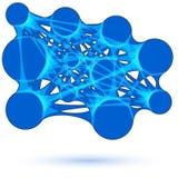 Diversos colores de Metaball Vector 9 ilustración del vector