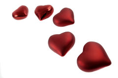 Diversos corações Imagens de Stock