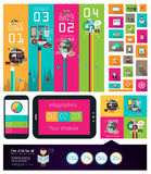 Diversos diseños: Espacio de trabajo ideal para el trabajo en equipo libre illustration