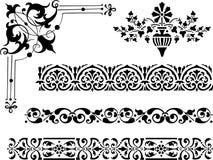 Diversos elementos del diseño Fotografía de archivo