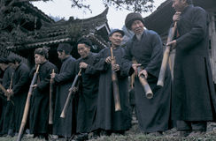 Hmong no sudoeste China imagem de stock royalty free