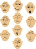 Diversos imitadores Imagen de archivo