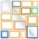 Diversos marcos Imagen de archivo