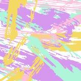 Diversos movimientos de la pintura de los colores Fotografía de archivo libre de regalías