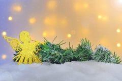 Diversos ornamentos de la Navidad Foto de archivo libre de regalías