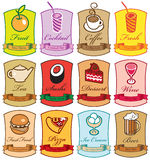 Diversos platos Imagen de archivo libre de regalías