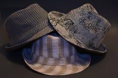 Diversos sombreros modelados Fotos de archivo