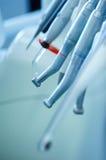 Diversos taladros dentales Fotografía de archivo