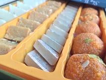 Diversos tipos de dulces Foto de archivo