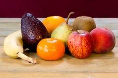 Diversos tipos de fruta Imagenes de archivo