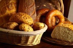 Diversos tipos de pan Imagenes de archivo