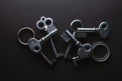 Diversos viejos claves fotos de archivo libres de regalías