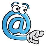 Divertido en el símbolo Imagen de archivo libre de regalías