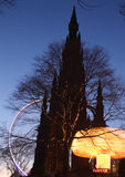 Divertimenti di Edinburgh Fotografia Stock