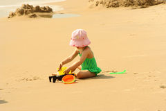 Divertimento 1 de Beachtime Imagens de Stock Royalty Free
