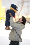 Divertimento 1 di inverno Fotografie Stock