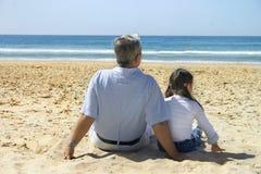 Divertimento 2 della spiaggia fotografia stock