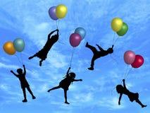 Divertimento 2 do balão ilustração do vetor