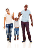 Divertimento africano della famiglia immagine stock libera da diritti
