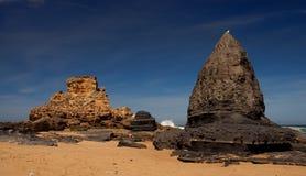 Divertimento alla spiaggia fotografie stock libere da diritti