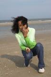 Divertimento alla spiaggia Fotografie Stock