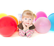 Divertimento Baloons imagens de stock