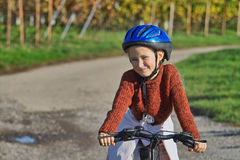 Divertimento com bicicleta Foto de Stock Royalty Free