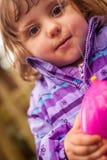 Divertimento com ovo da água Imagens de Stock Royalty Free