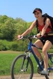 Divertimento da bicicleta Fotos de Stock Royalty Free