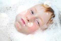 Divertimento da bolha Imagem de Stock