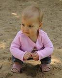 Divertimento da caixa de areia Fotos de Stock