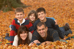 Divertimento da família Foto de Stock