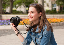 Divertimento da fotografia Foto de Stock