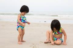Divertimento da praia Imagem de Stock