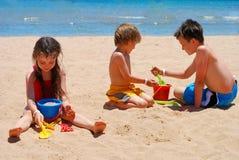 Divertimento da praia imagens de stock royalty free