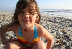 Divertimento da praia Imagens de Stock