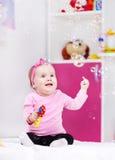 Divertimento das bolhas de sabão Imagens de Stock
