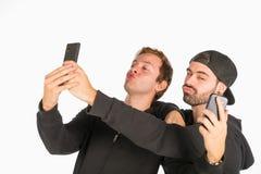 Divertimento de Selfie Fotografia de Stock Royalty Free