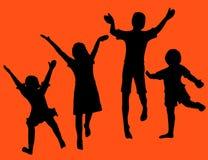 Divertimento dei bambini Fotografia Stock Libera da Diritti