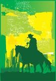 Divertimento del cowboy al sole Immagine Stock Libera da Diritti