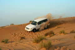 divertimento dell'azionamento del deserto immagini stock libere da diritti