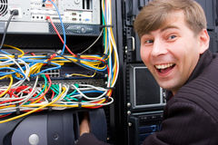 Divertimento dell'ISP immagini stock libere da diritti