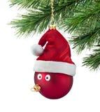 Divertimento dell'ornamento dell'albero di Natale Fotografia Stock