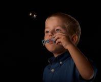 Divertimento della bolla di sapone Fotografia Stock