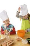 Divertimento della cucina Fotografia Stock