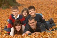 Divertimento della famiglia Fotografia Stock