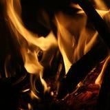 Divertimento della fiamma Fotografia Stock